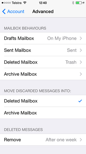 Mailbox Sychronisation
